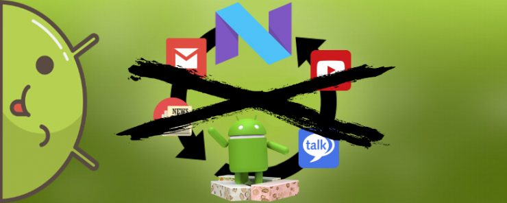 Как удалить Гугл аккаунт на Андроиде 7.0