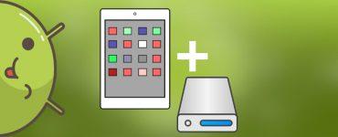 Как подключить внешний жесткий диск к планшету Андроид