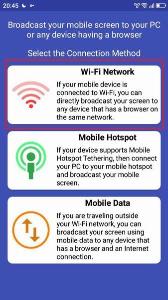 Как транслировать экран Android на ПК через Вай Фай