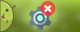 В приложении «Настройки» произошла ошибка на Андроид